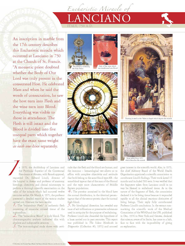 Lanciano (part 1) 750 A.D.