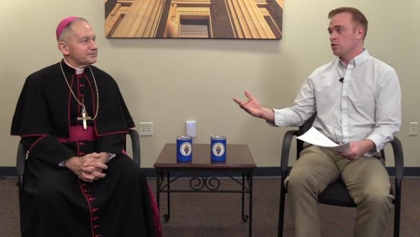 Bishop Paprocki's Live Q&A with High School Students from Across the Diocese