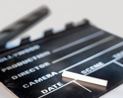 video-clapper-board