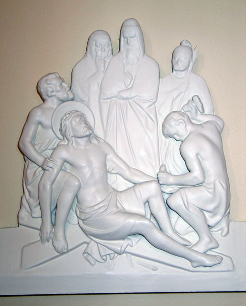 The Eleventh Station - Jesus is Nailed to the Cross