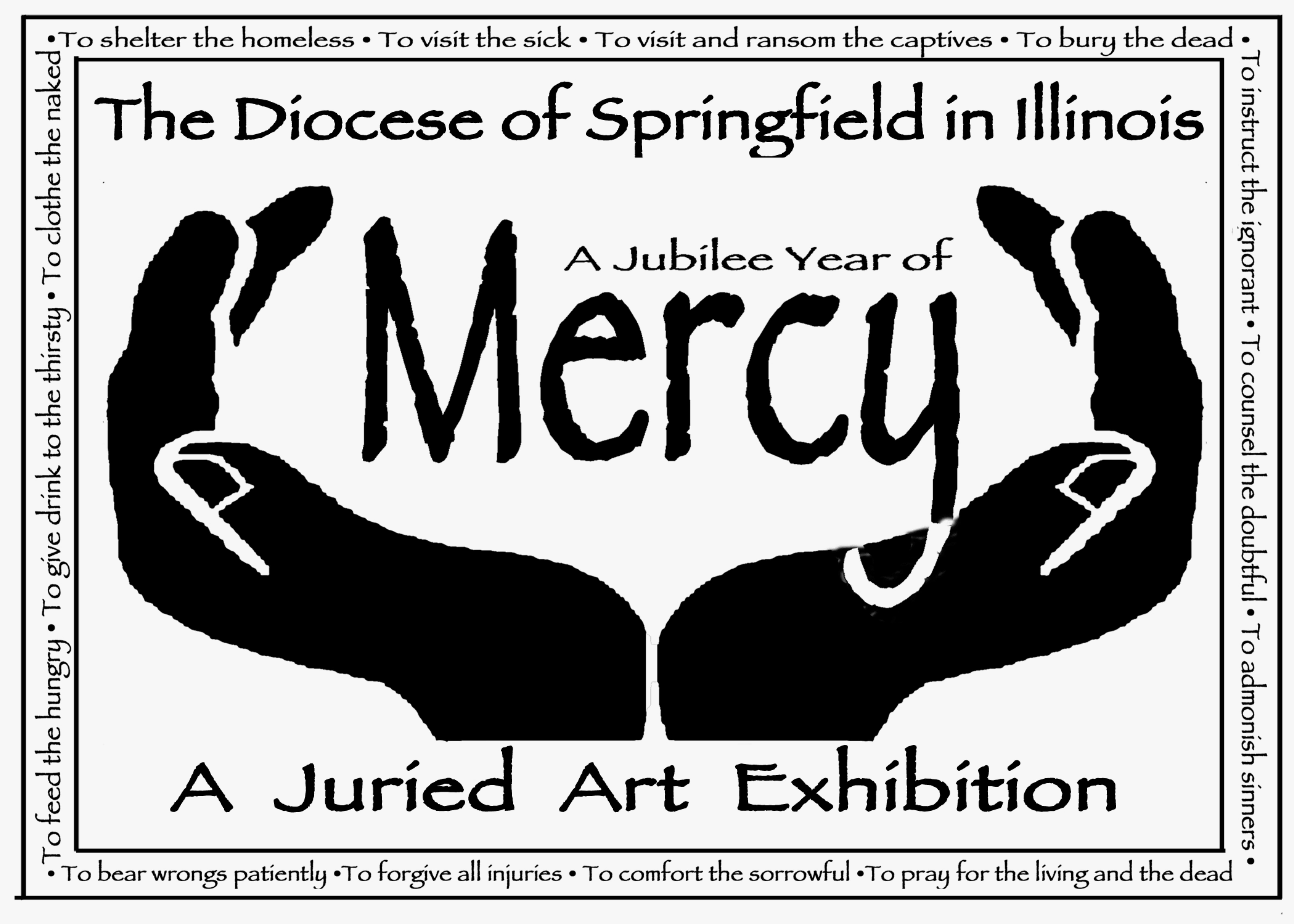 year of mercy art exhibition logo