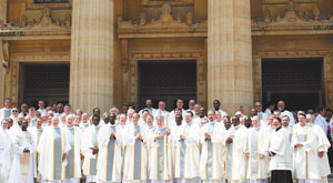 Bishop Paprocki priests deacons religious and laity ordination 2015