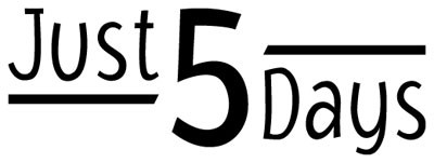Just5Days logo web