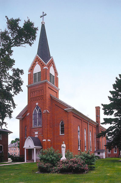 St. Mary, Marshall